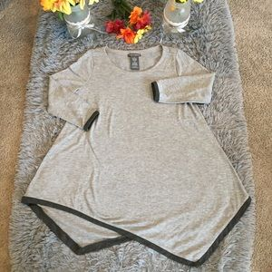 Chelsea and Theodore Asymmetrical Top Size Medium